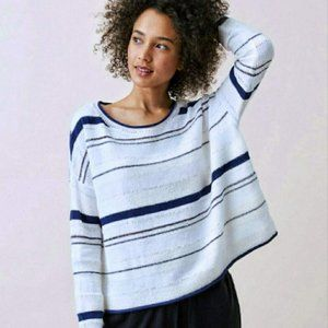 Lou & Grey Oversized Pull Over Knit Crew Sweater